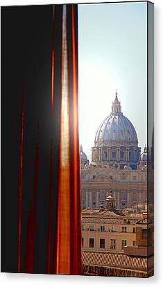The Vatican Canvas Print by Valentino Visentini