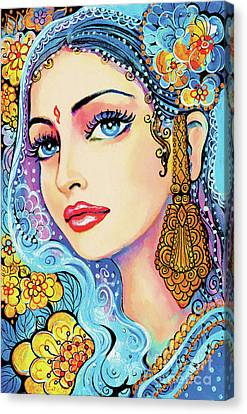The Veil Of Aish Canvas Print by Eva Campbell