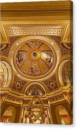 The Venetian Las Vegas Canvas Print by Susan Candelario