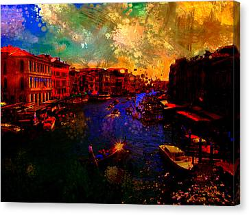 The Veneto Canvas Print by Brian Reaves