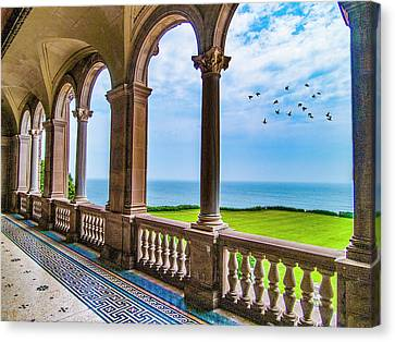Canvas Print featuring the photograph The Veranda by Paul Wear