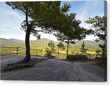 The View From Cathedral Ledge North Conway Nh Canvas Print