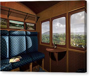 The View From Marion Station Canvas Print
