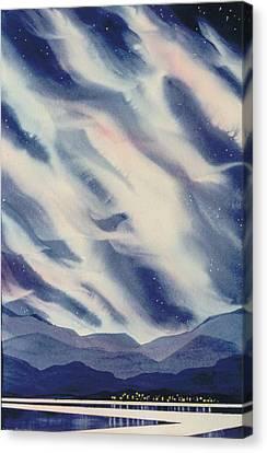 The-village Canvas Print by Nancy Newman