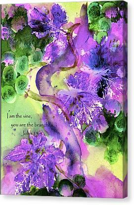 The Vine Canvas Print by Anne Duke