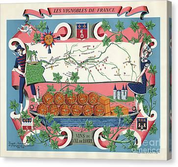 The Vineyards Of France Canvas Print by Jon Neidert