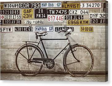 The Vintage Bicycle Canvas Print