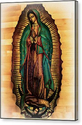Our Lady Of Guadalupe Canvas Print - The Virgin Of Guadalupe  by Bill Cannon