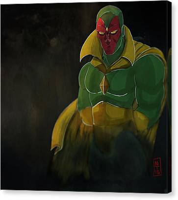 The Vision Canvas Print by Nolan Taylor