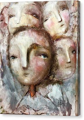 The Voices Canvas Print by Eleatta Diver