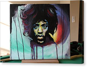 The Voodoo Child Canvas Print by Matt Burke