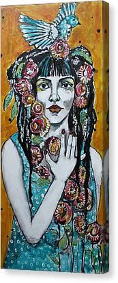 Dread Canvas Print - The Vow by Jane Spakowsky