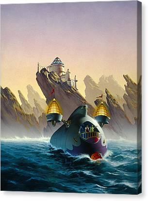 The Voyage Canvas Print by Richard Hescox
