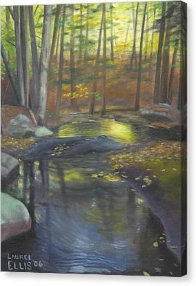 The Wading Pool Canvas Print by Laurel Ellis