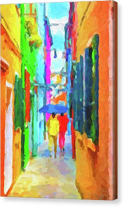 The Walkabouts - Good Morning, Italy Canvas Print