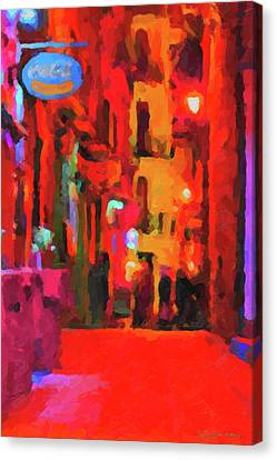 The Walkabouts - Spanish Red Moon Stroll Canvas Print