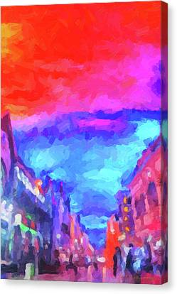 The Walkabouts - Sunset In Chinatown Canvas Print