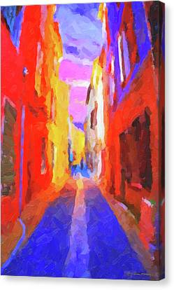 The Walkabouts - Twilight In Francethe Walkabouts - Twilight In France Canvas Print