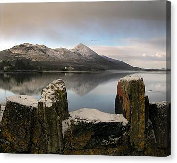 The Wall Canvas Print by Paul  Mealey
