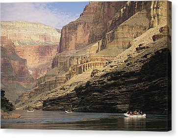 Inflatable Canvas Print - The Walls Of The Grand Canyon Dwarf by David Edwards
