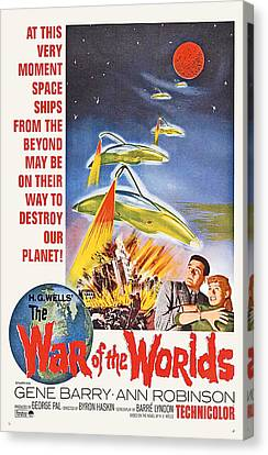 The War Of The Worlds, Bottom From Left Canvas Print