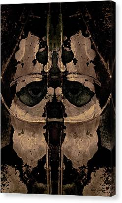 The Warrior Toned Canvas Print