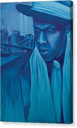 The Watcher Canvas Print by Derek Donnelly