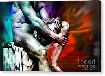 The Watching Man   Canvas Print by Mark Ashkenazi
