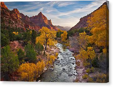 The Watchman Canvas Print by Guy Schmickle