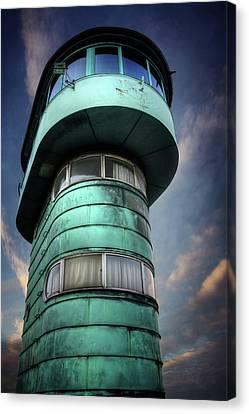Traffic Control Canvas Print - The Watchtower Copenhagen Denmark by Carol Japp