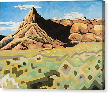 The Watchtower Canvas Print by Dale Beckman