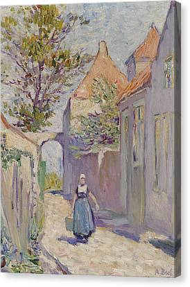 The Water Carrier Canvas Print