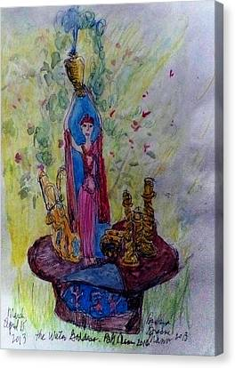 The Water Goddess Canvas Print