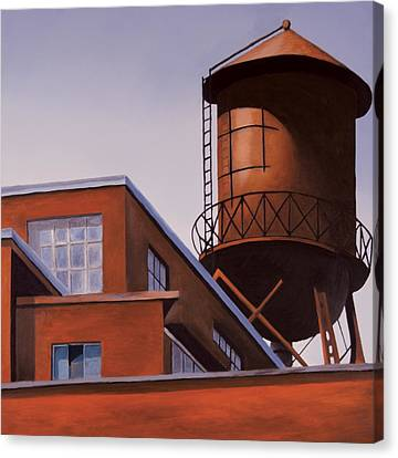 The Water Tower Canvas Print by Duane Gordon