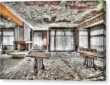 The Waterfall Hotel - L'hotel Della Cascata Canvas Print