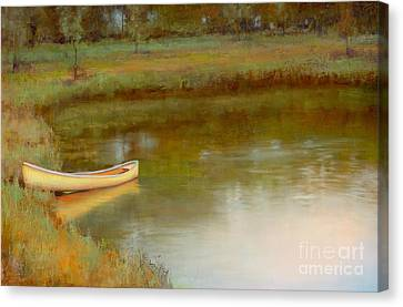 The Water's Edge Canvas Print by Lori  McNee