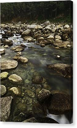 The Waters Flow Canvas Print