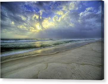 Panama City Beach Florida Canvas Print - The Waters Of Panama City Beach by JC Findley