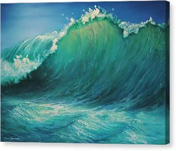 The Wave By Alan Zawacki Canvas Print