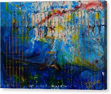 The Sound Wave Canvas Print