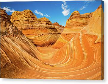 Breath Canvas Print - The Wave by Edgars Erglis