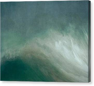 The Wave Canvas Print by Lonnie Christopher