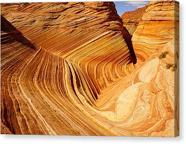 The Side Wave Canvas Print