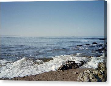 The Waves Of Undeconstruction Canvas Print by Susanne Awbrey