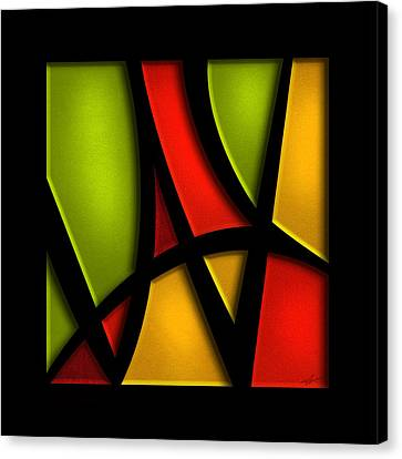 The Way - Abstract Canvas Print by Shevon Johnson