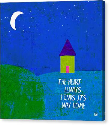 The Way Home Canvas Print by Lisa Weedn
