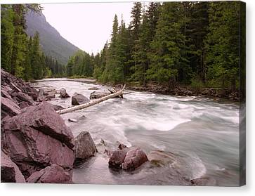 Cope Canvas Print - The Way Of A River by Jeff Swan