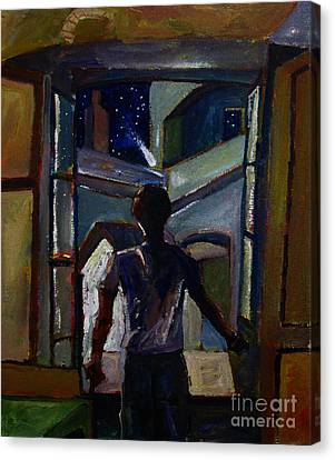 The Way Of The Doors Book Cover Canvas Print by Charlie Spear