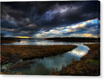 The Way Of The River Canvas Print by Neil Shapiro