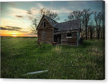 Canvas Print featuring the photograph The Way She Goes by Aaron J Groen